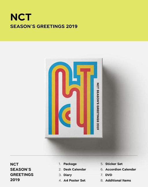 NCT - 2019 SEASON'S GREETINGS