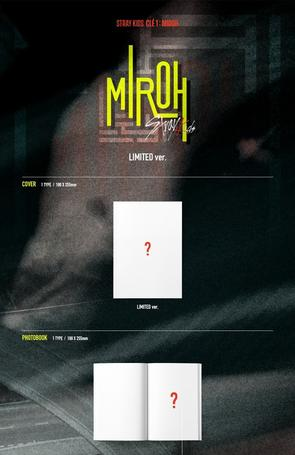 STRAY KIDS - MINI ALBUM - CLE 1 : MIROH [LIMITED]