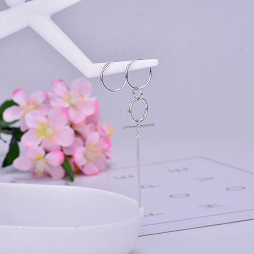 "BTS ""DNA CROSS"" EARRINGS"
