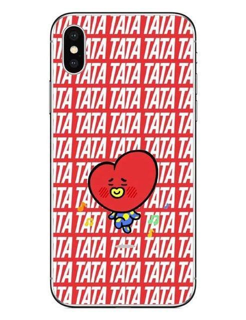 """""BT21 CHARACTER VER 2"" PHONE CASES"