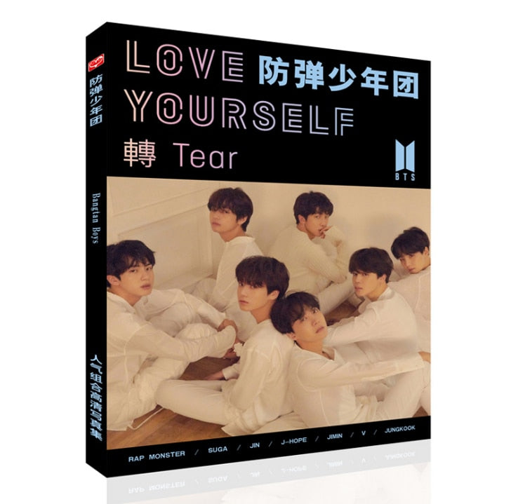 Kpop BTS Bangtan Boys LOVE YOURSELF Photo Album HD Magazine 96Pages
