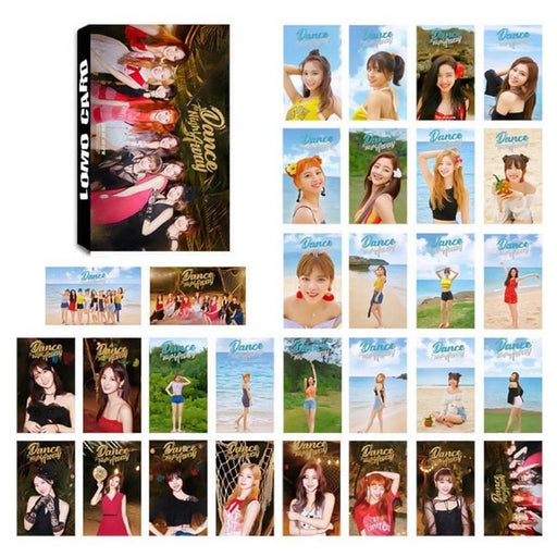 30pcs/set K-POP BLACKPINK  Album SQUARE UP TWICE Album  Lomo Card Photo Card HD Photocard
