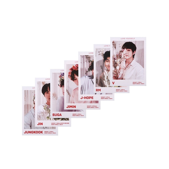 7 Pcs/Set New KPOP BTS Bangtan Boys LOVE YOURSELF Album LOMO Card Photocard