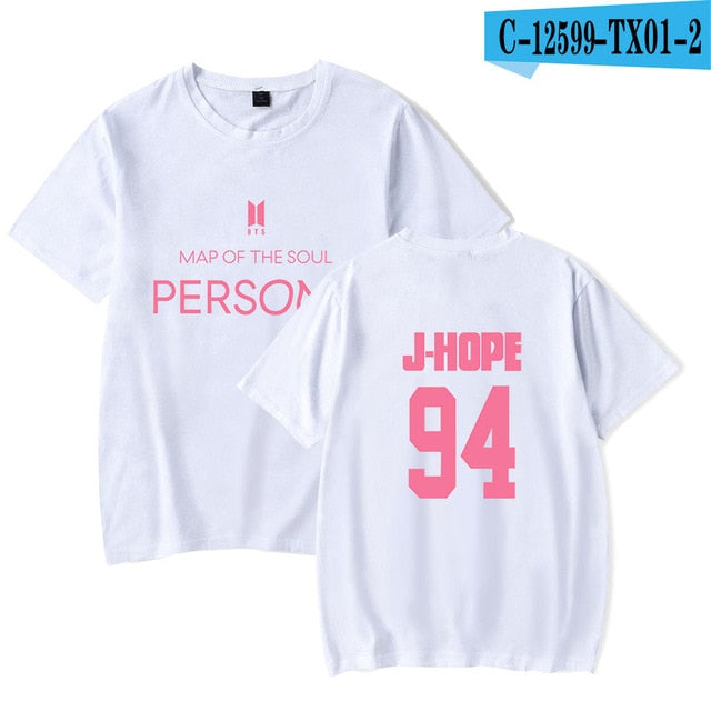 BTS Map Of The Soul Persona Kpop T-shirts