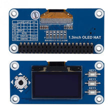 Load image into Gallery viewer, 1.3 inch OLED Display HAT Expansion Board For Raspberry Pi 2B/3B for Zero W