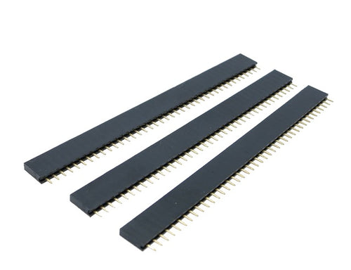 Set 40 Pin FEMALE HEADER 0.1