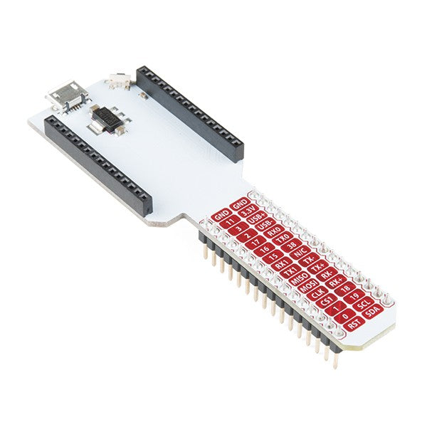Onion Breadboard Dock for Omega2 & Omega2+ - Server On The Move