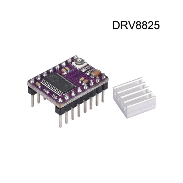 DRV8825 Stepper Motor with Heat Sink for 3D Printer and CnC - Server On The Move