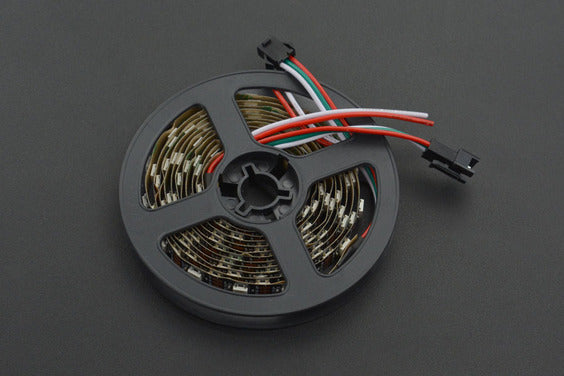 Digital RGB LED Strip (White) - 60 LEDs/Metre
