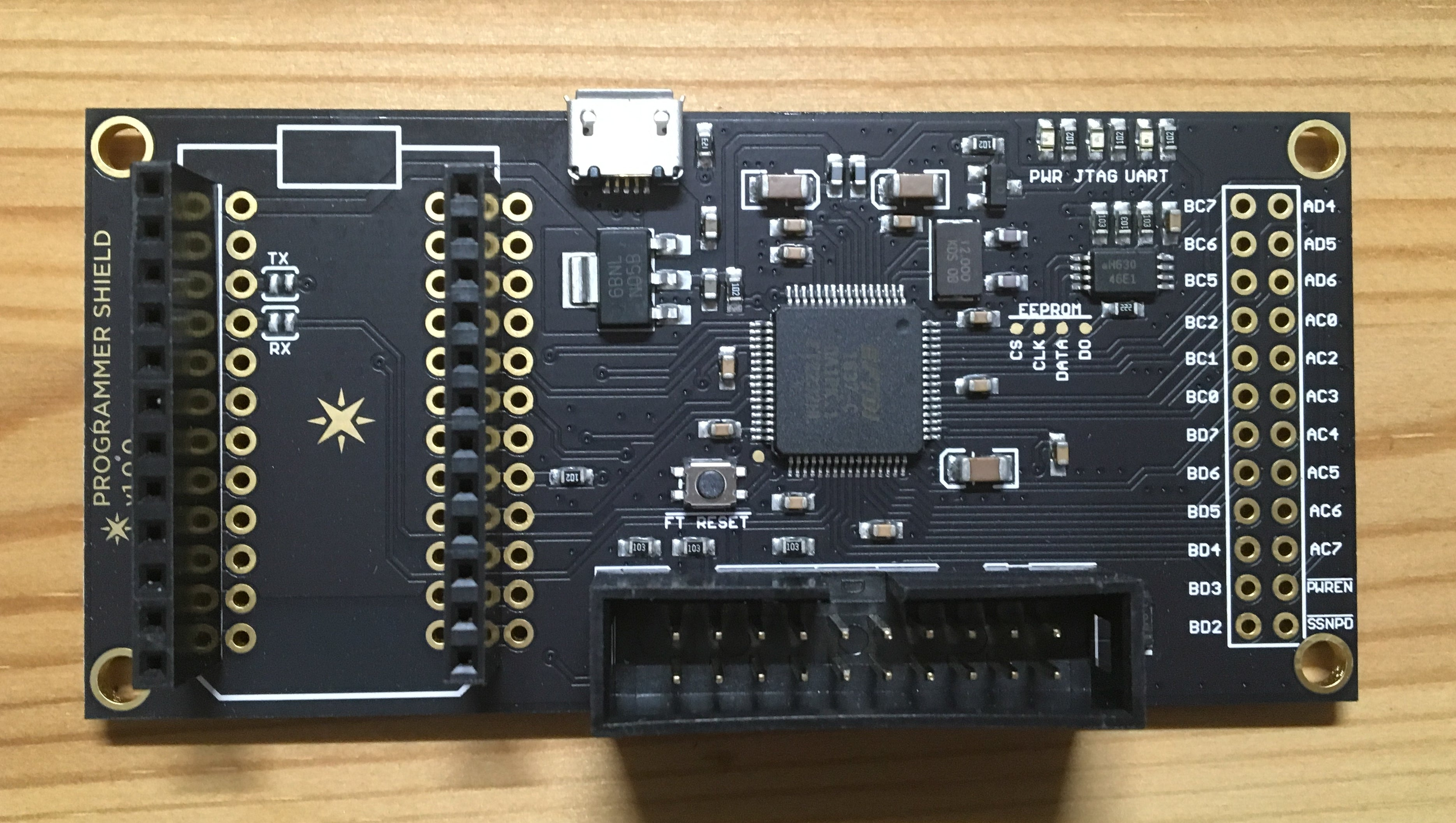 Particle Programmer Shield V1.0 for Photon - Server On The Move