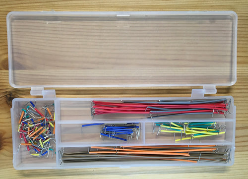 140pc Jumper Wire Kit for Solderless Breadboard