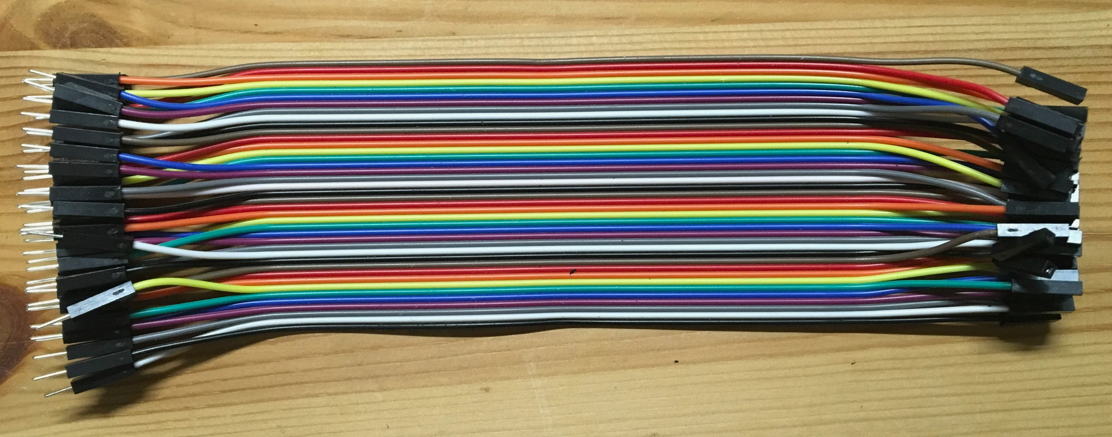120pc DuPont Jumper Wire multicolour kit for Breadboard/Prototyping - Server On The Move