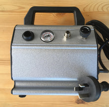 Load image into Gallery viewer, Airbrush Air Compressor 1/6HP 20L/min 0.3L Tank