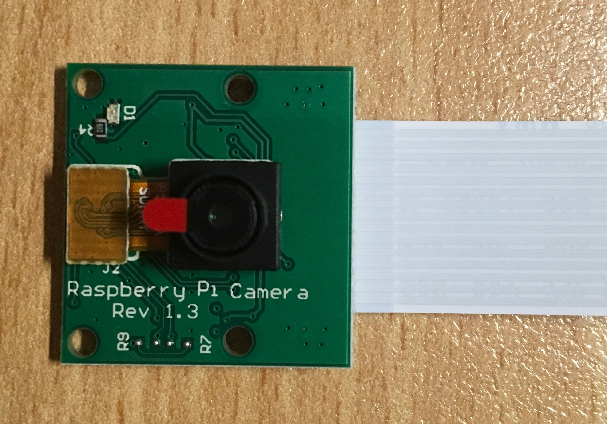 5MP Camera for Raspberry A, A+, 2B, 3B, 3B+ with HBV FFC Cable - Server On The Move