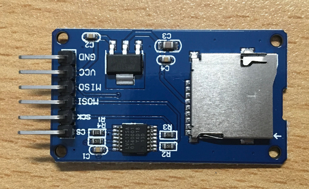 SD Card Mini TF Card Reader Module for Arduino, Raspberry, nodeMCU SPI