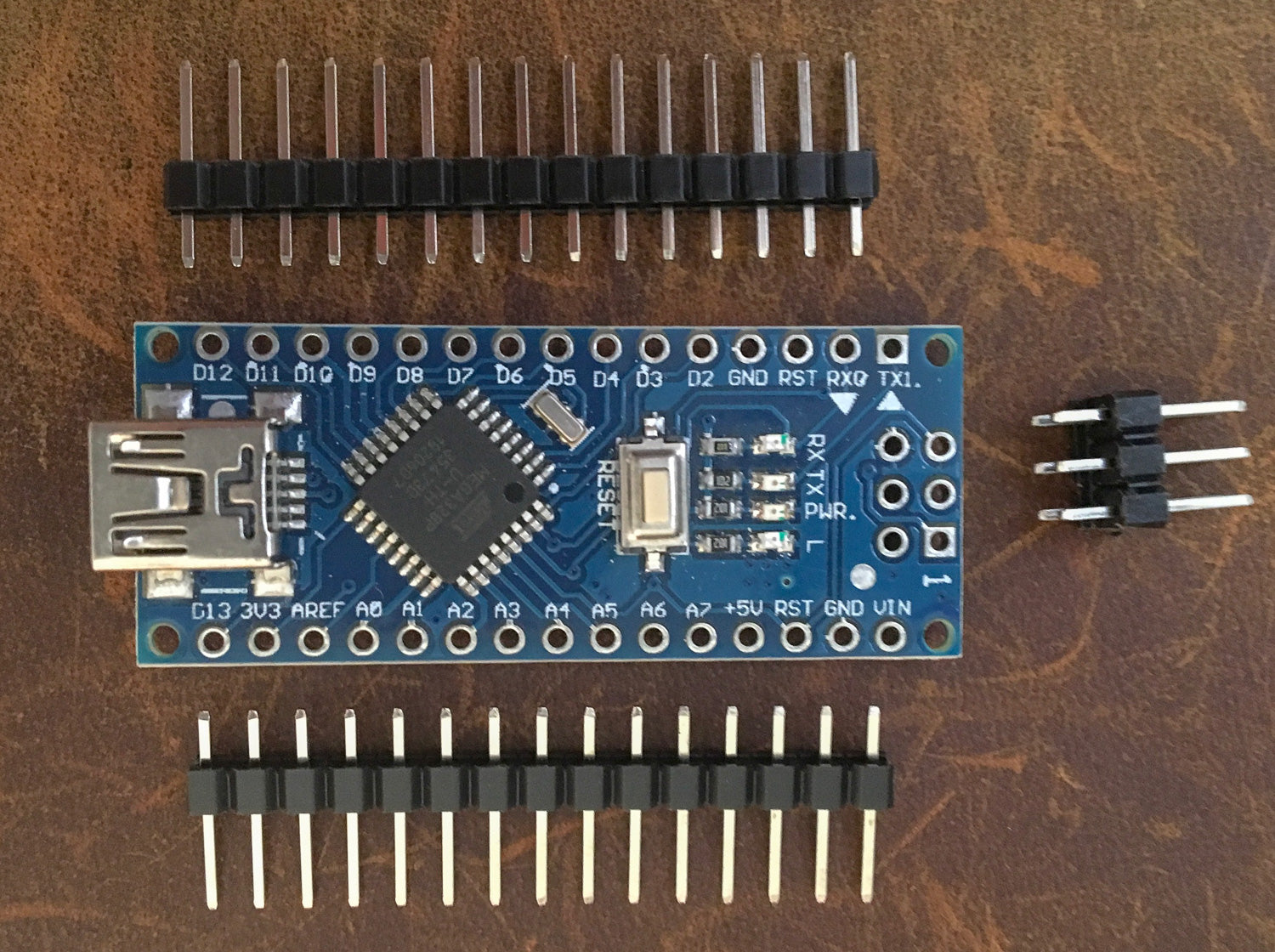 Arduino Nano compatible ATMega128P with 2019 16Mhz Optiboot Bootloader and CH340 - Server On The Move