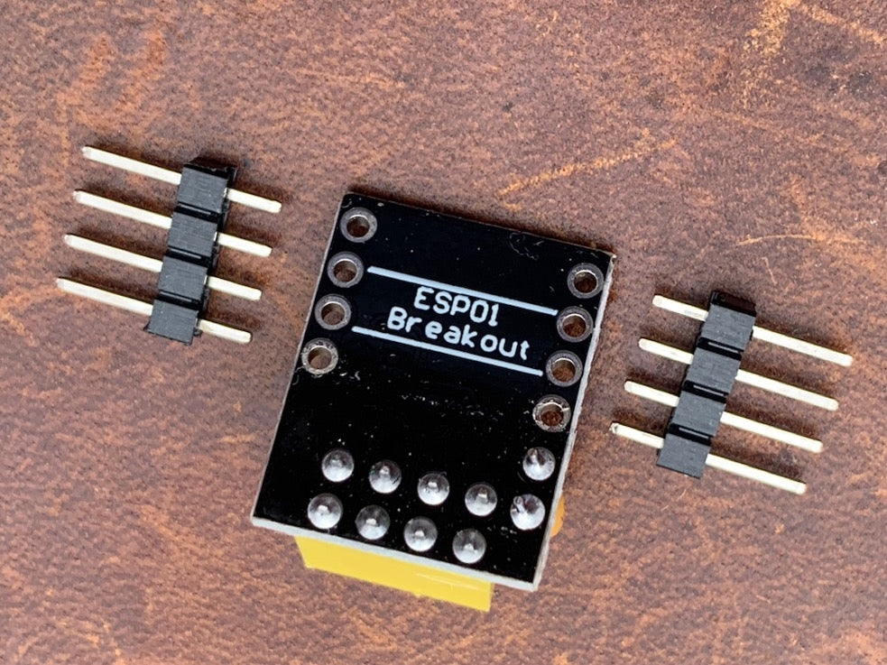 ESP 01 Breadboard Breakout Soldered or Unsoldered