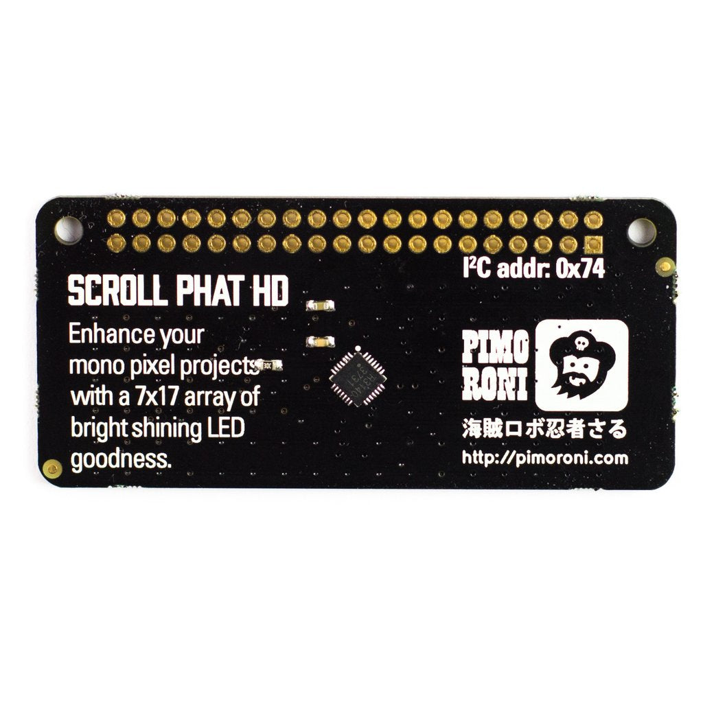 Scroll pHAT HD - Raspberry Pi