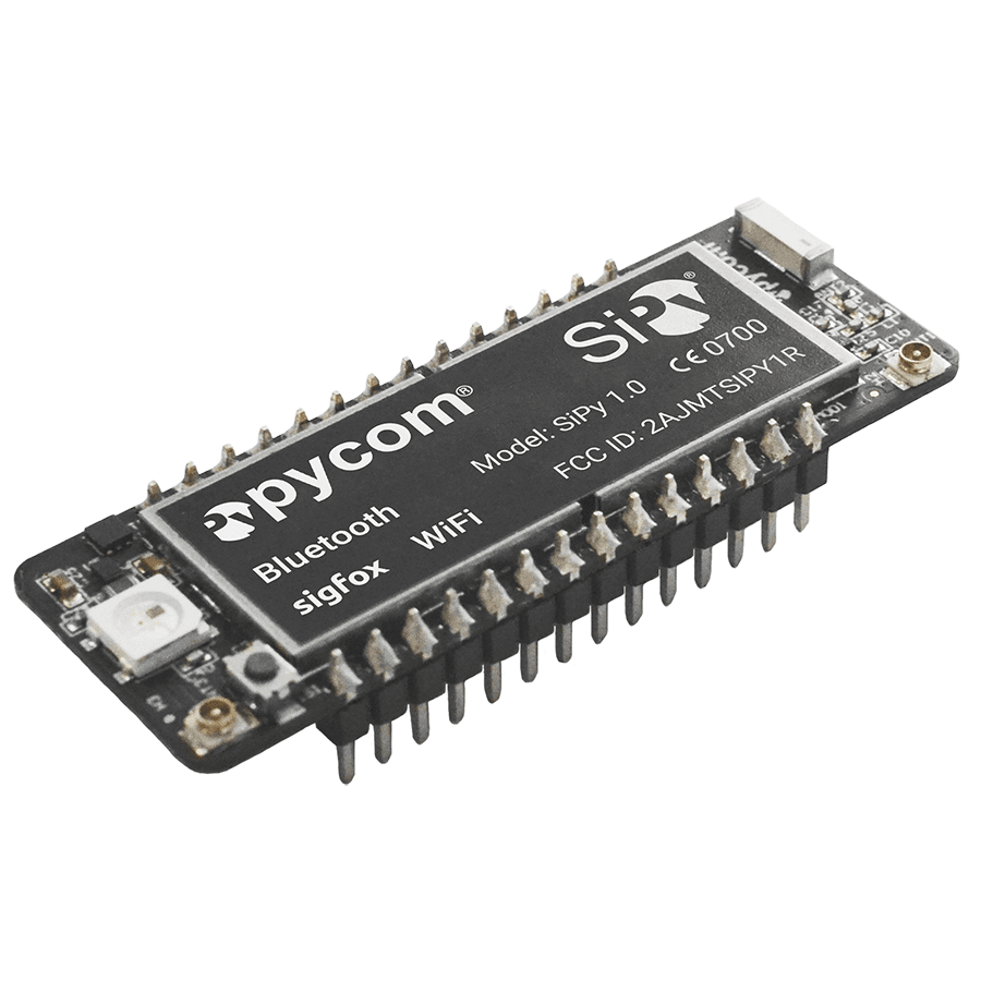 Pycom SiPy - SigFox, WiFi & Bluetooth IoT Development Platform - Server On The Move