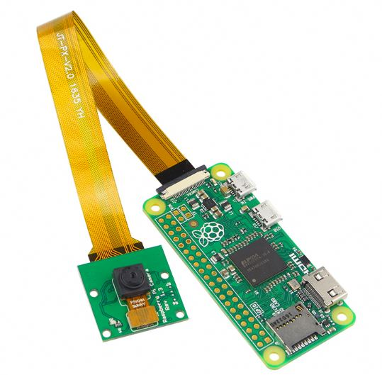 5MP Camera for Raspberry Pi for Zero & Zero W with 15cm HBV FFC Cable - Server On The Move
