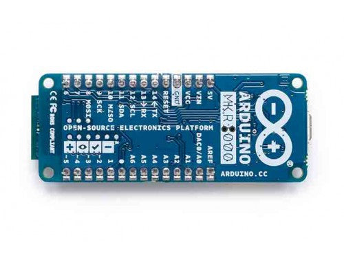 Arduino MKR1000 WIFI with headers mounted