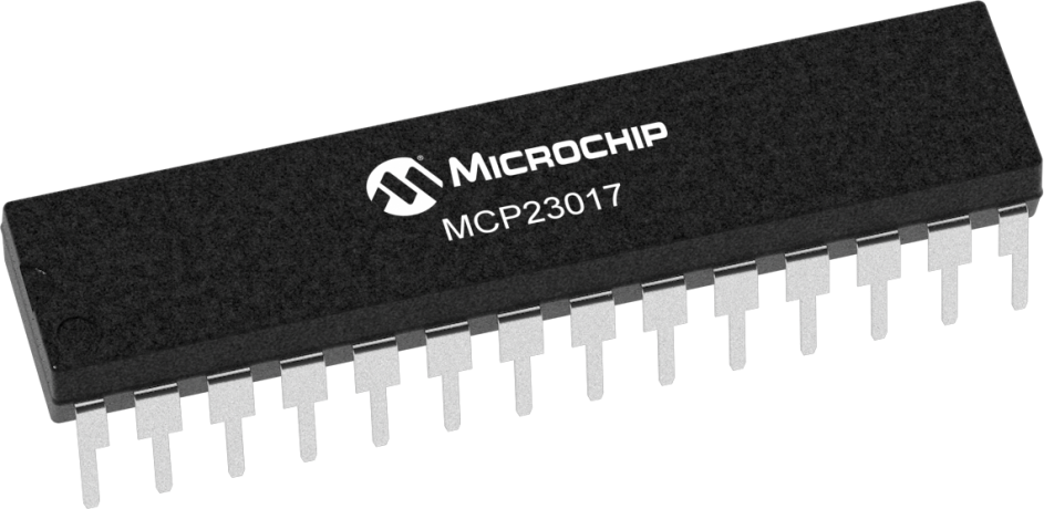 MCP23017 - 16-Bit I2C I/O Expander with Serial Interface