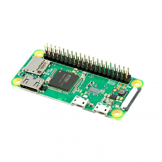Raspberry Pi Zero WH (Wireless with Soldered Headers) WiFi Bluetooth - Server On The Move