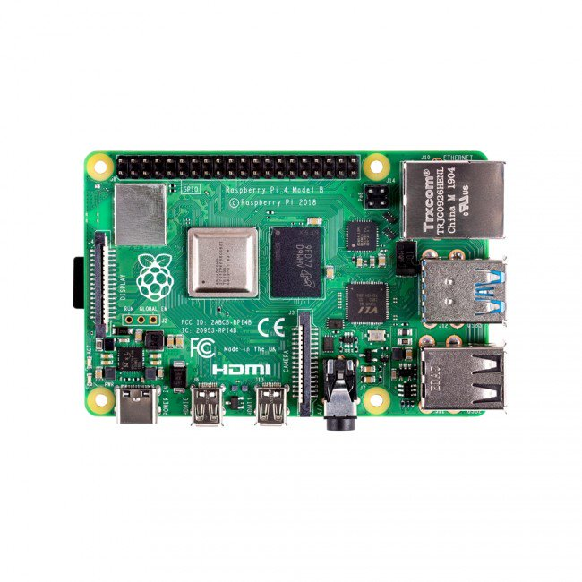 Raspberry Pi 4 Model B (1GB, 2GB or 4GB versions) - Server On The Move