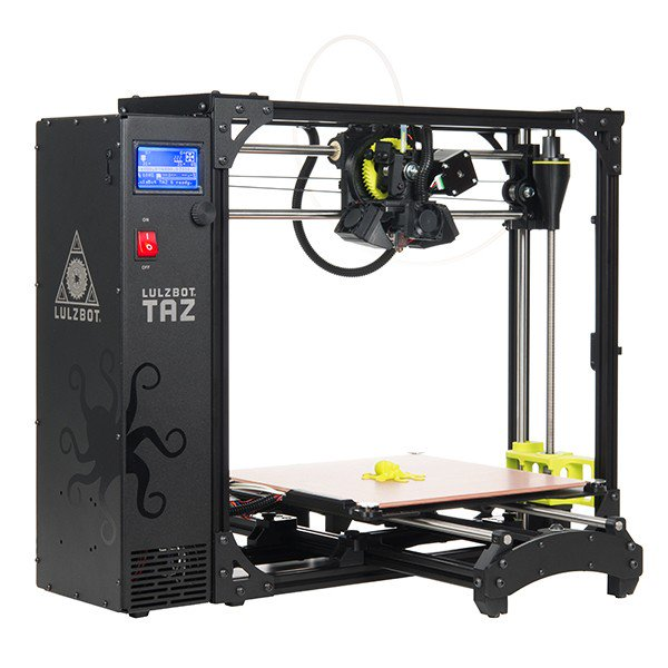 Lulzbot TAZ 6 Professional 3D Printer - AU Stock & Warranty - 280x280x250mm - up tp 300C - Server On The Move