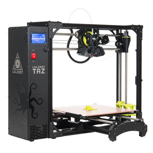 Lulzbot TAZ 6 Professional 3D Printer - AU Stock & Warranty - 280x280x250mm - up tp 300C
