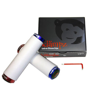 klämpz lock-on silicone grips - USA Edition - RedMonkey Sports