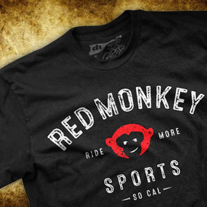 "RedMonkey ""Ride More"" T-Shirt - RedMonkey Sports"