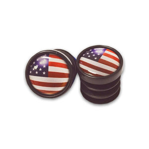 USA End Cap Plugs - RedMonkey Sports