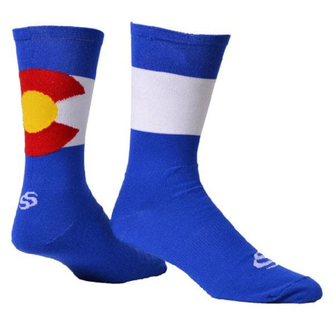 "Save Our Soles 7"" ColoRADo Socks"