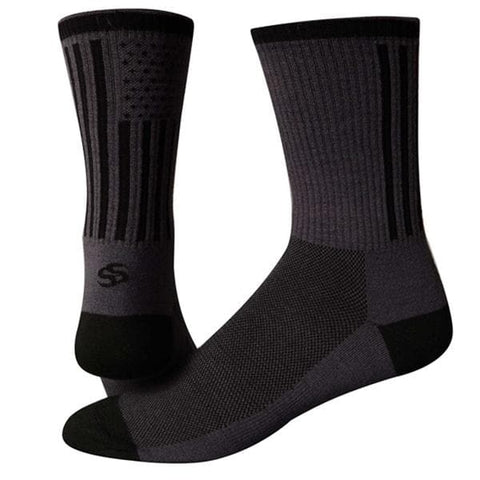 "Save Our Soles Tru Sole American Made 6"" Socks"