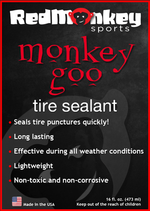 Monkey Goo Tubeless Sealant - RedMonkey Sports