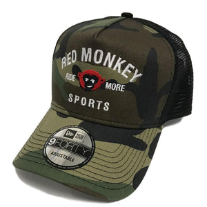 "New Era Camo ""Ride More"" 9Forty Snapback Hat - RedMonkey Sports"