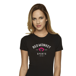 "RedMonkey ""Ride More"" T-Shirt - Women - RedMonkey Sports"