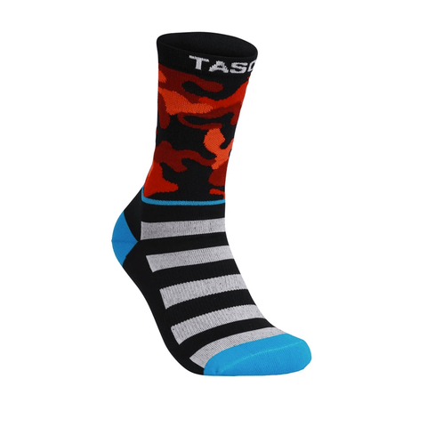 TASCO Red Camo Double Digits MTB Socks