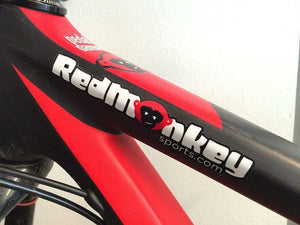 Die cut RedMonkey Sports Stickers - RedMonkey Sports