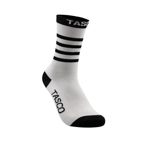 TASCO White Sections Double Digits MTB Socks
