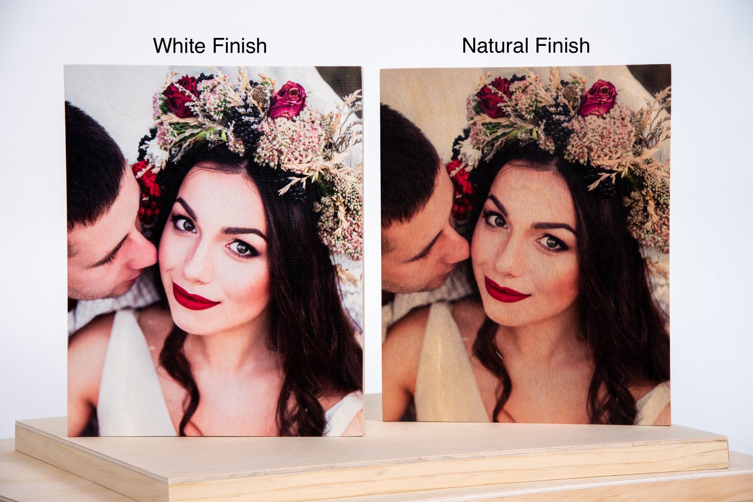 Portrait Custom Wood Photo Print