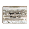 Landscape Your Design Here Custom Wood Panel Sign