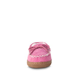 Kids Hot Pink Loafer Moccasin