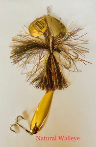 The Big Dirty Bucktail Lure - WB Musky Shop