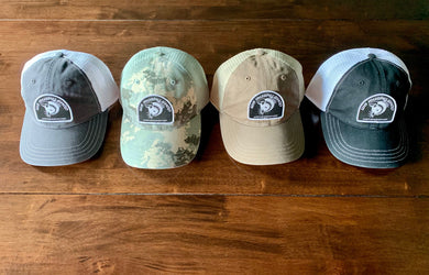 WB Musky Shop Signature Patch Trucker Hat