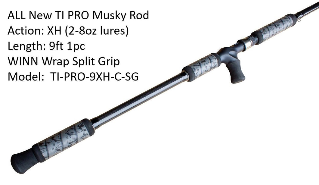 Tackle Industries TI Pro Musky Rod (Shipping Included)