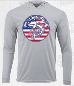 WB Musky Shop Limited Edition Patriotic Performance Shirt