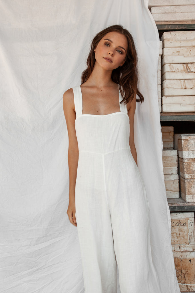 Aisha Jumpsuit - White