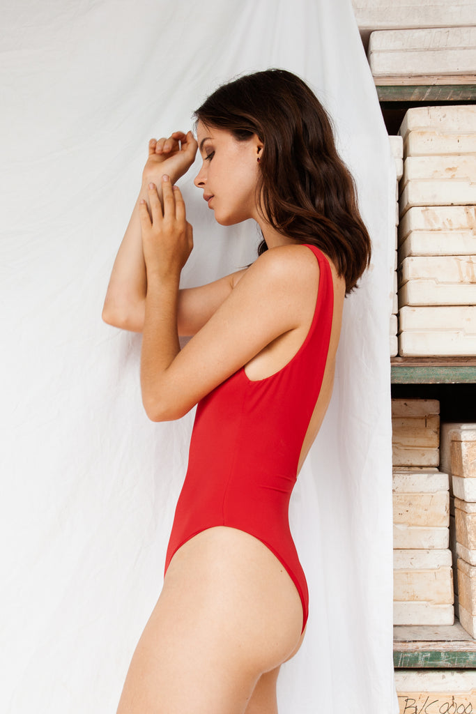 Classic Onepiece - red